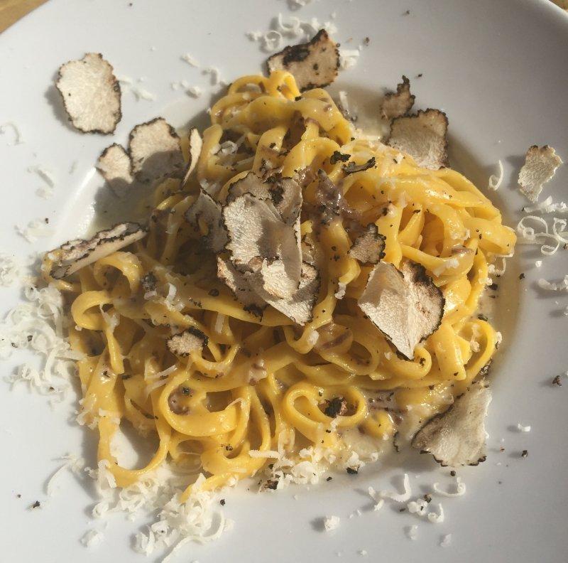 Spaghetti au beurre de truffe - Pauline&Olivier