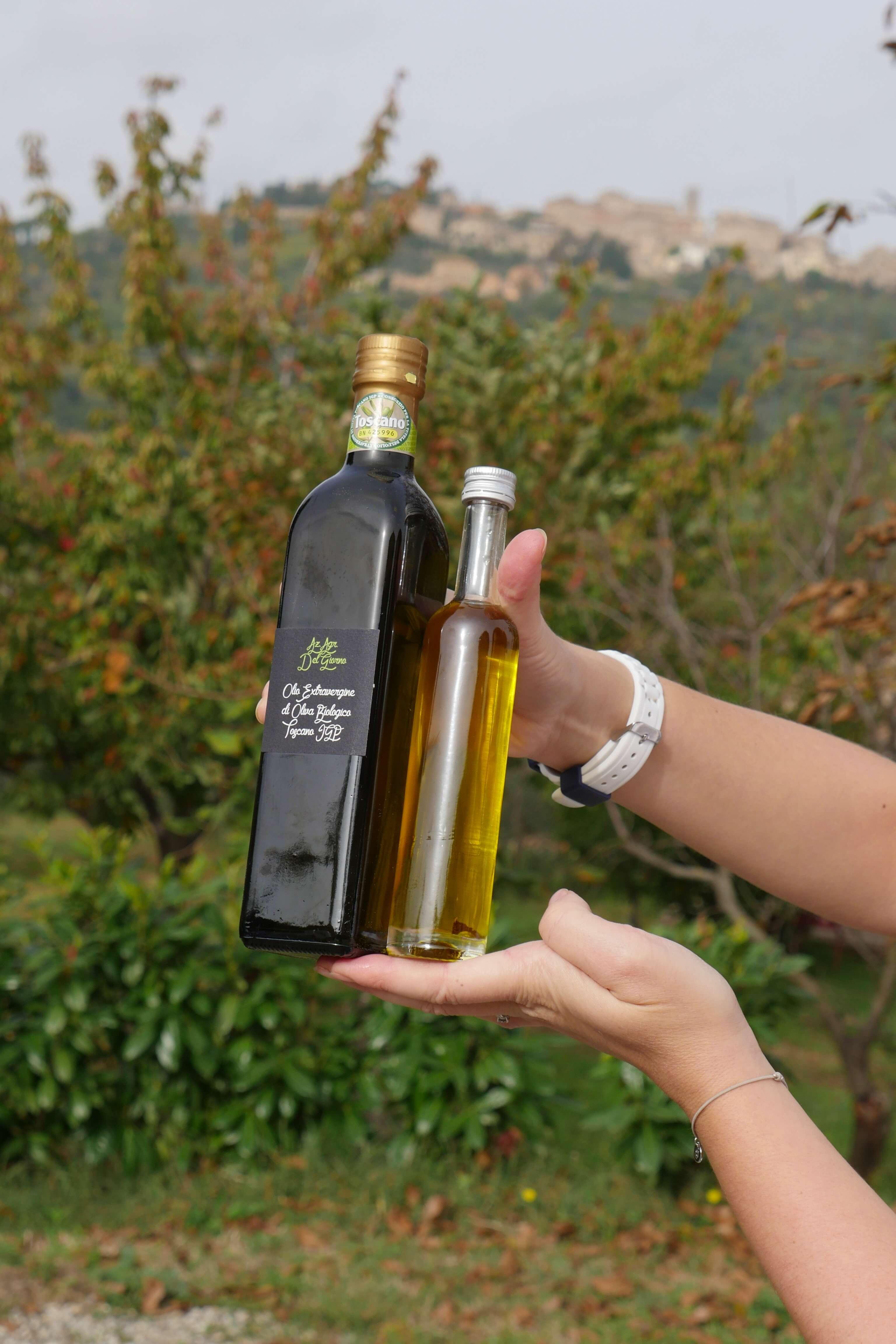 Huile d'olive extra vierge bio - Olio del Giorno - Pauline&Olivier