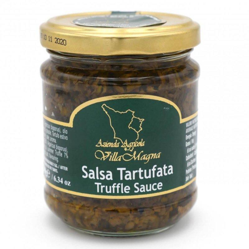 sauce champignon truffe 180g - Villa Magna - Pauline&Olivier