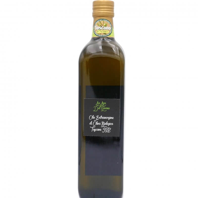 Huile d'olive extra vierge bouteille 75 cl - Del Giorno - Pauline&Olivier