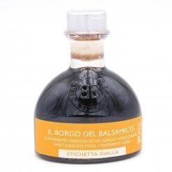 Condiment étiquette jaune (idéal pour les salades) - Il Borgo del Balsamico - Pauline&Olivier