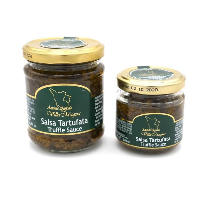 sauce champignon truffe - Villa Magna - Pauline&Olivier