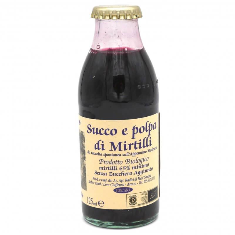 Jus de myrtille sans sucre ajouté Bio - Azienda Agricola Radici - Pauline&Olivier