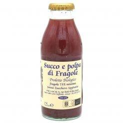 Jus de fraise sans sucre ajouté Bio - Azienda Agricola Radici - Pauline&Olivier