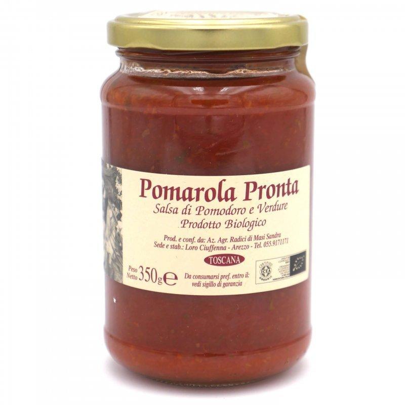 Sauce tomate Basilic Bio prête à l'emploi - Azienda Agricola Radici - Pauline&Olivier
