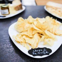 Chips à la truffe - aperitivo - Pauline&Olivier