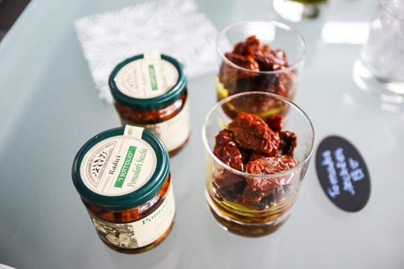 tomates séchées - aperitivo - Pauline&Olivier