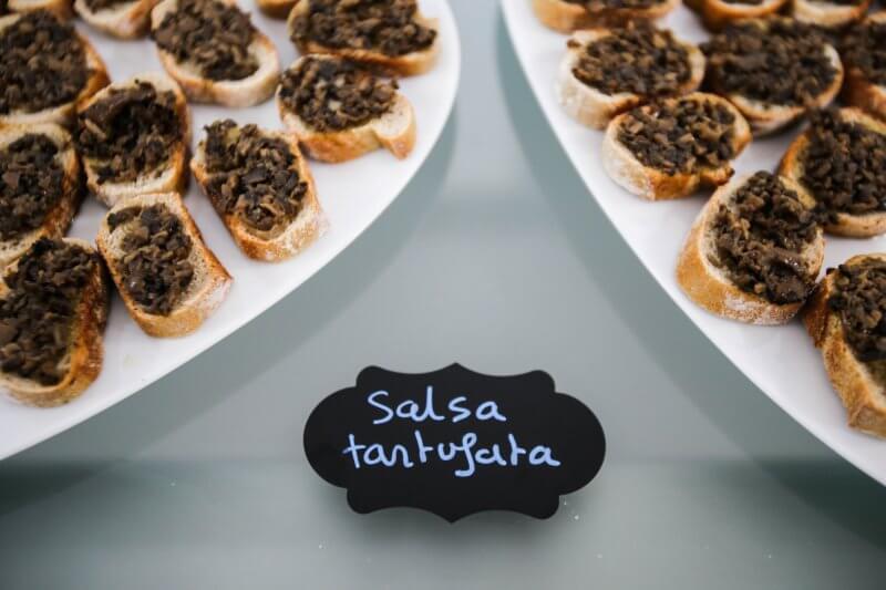 salsa tartufata - aperitivo - Pauline&Olivier