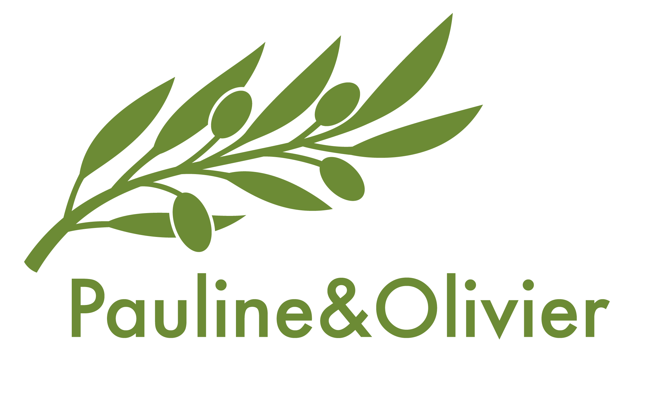 Logo Pauline&Olivier