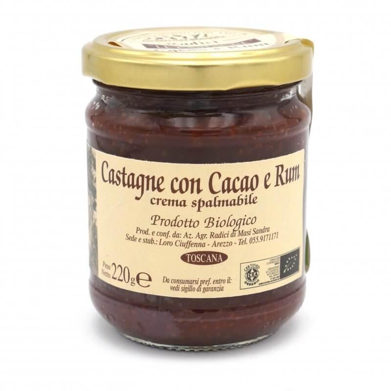 Crème de marron cacao et Rhum bio - Azienda agricola Radici - Pauline&Olivier