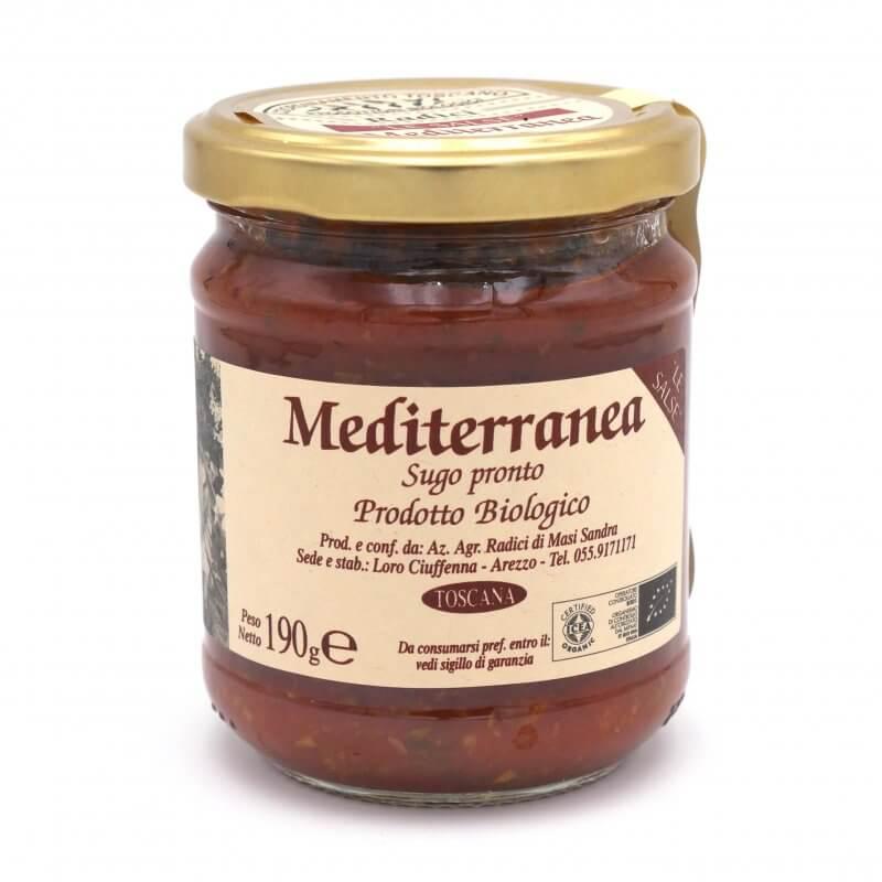 Sauce tomate Méditerranéenne - Azienda Agricola Radici - Pauline&Olivier