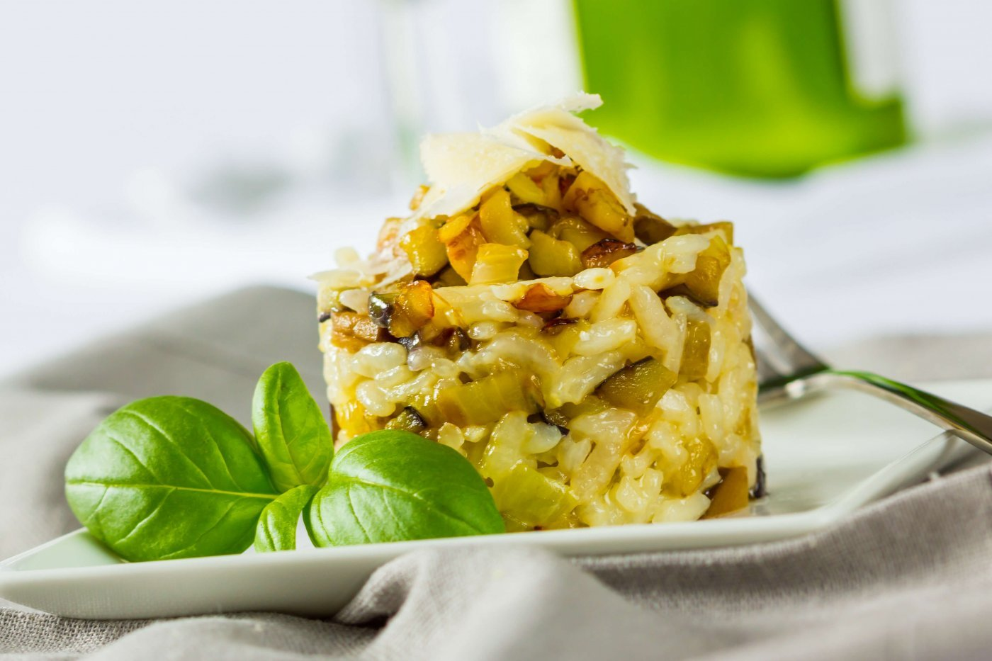 Box Orzotto Pesto de Courgette