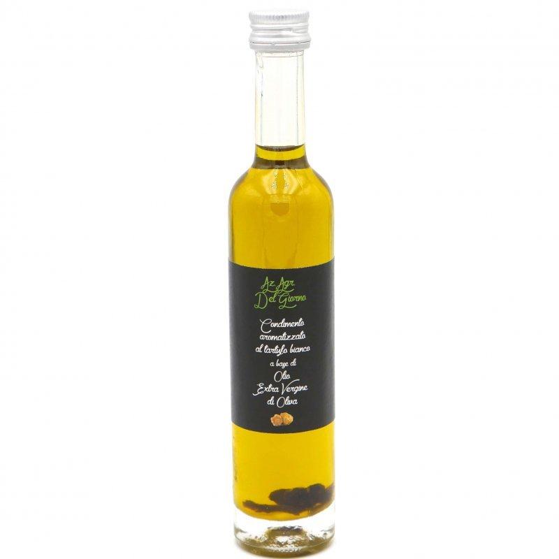 Huile d'olive extra vierge biologique à la truffe blanche - Pauline&Olivier