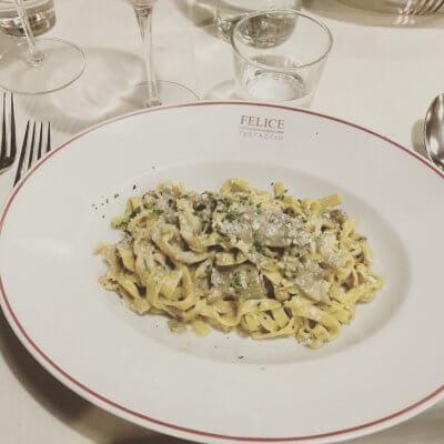 Spaghetti coeur d'artichaut - Pauline&Olivier