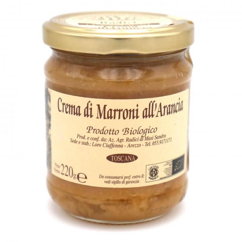 Crème de marron et orange bio - Azienda agricola Radici - Pauline&Olivier
