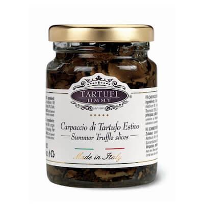 Carpaccio de truffes d'été-Tartufi-Jimmy-Pauline&Olivier