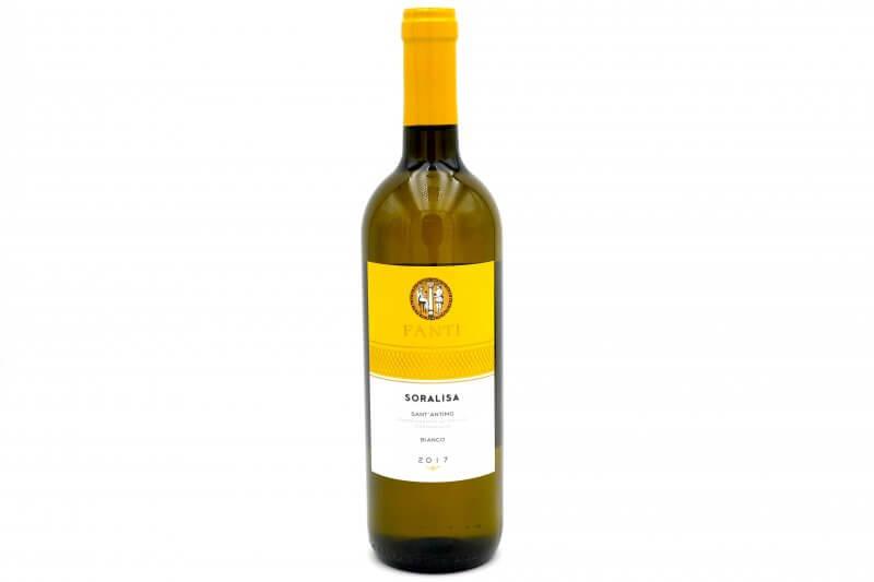vin blanc Soralisa Sant'Antimo 2017 - Fanti - Pauline&Olivier