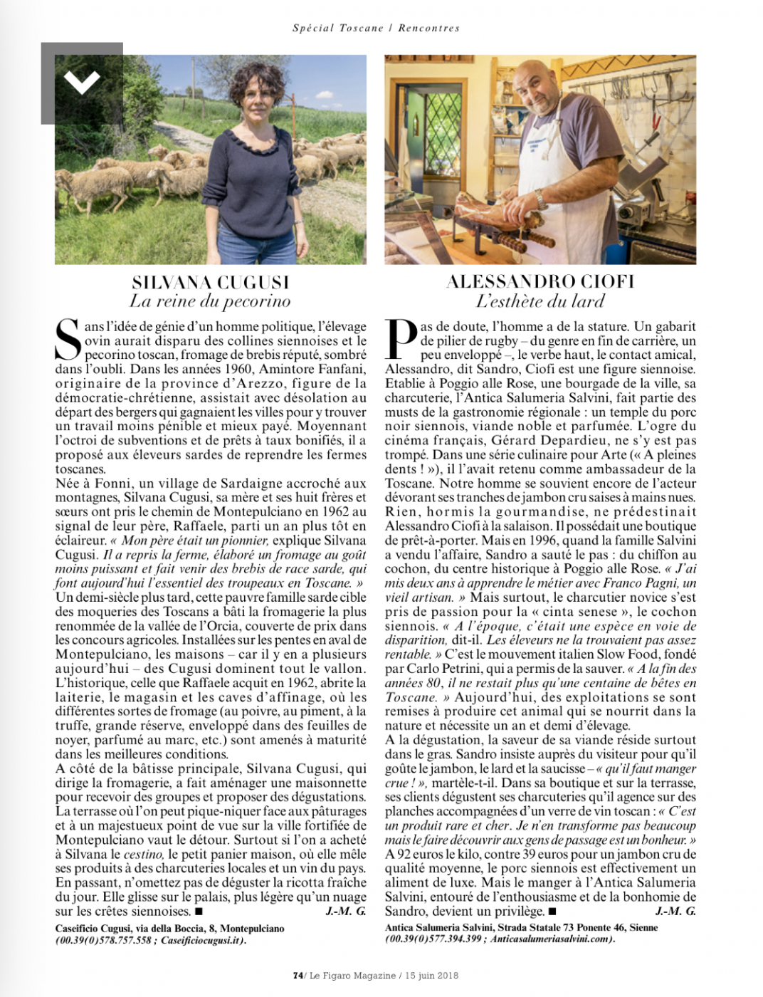 Figaro Mag - Cugusi - Pauline&Olivier