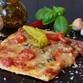 Pizza Croustillante par Pauline&Olivier