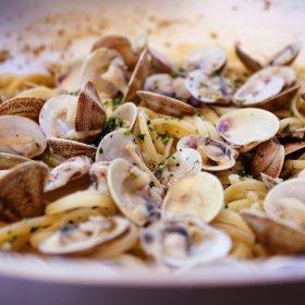 Linguine aux palourdes - recette blog - pauline&olivier