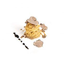 fettucine à la truffe noire - Pauline&Olivier