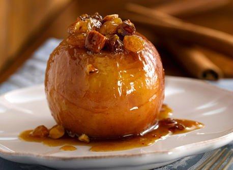 pommes rôties au miel à la truffe