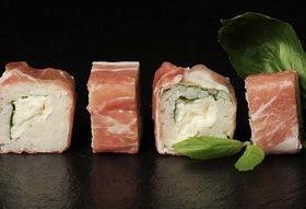 Maki à l'italienne et sauce soja à la Truffe by Pauline&Olivier