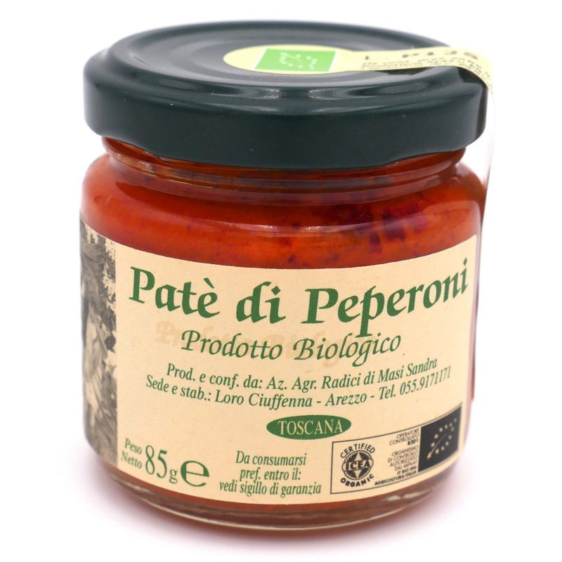 crème de poivron rouge Bio - Pauline&Olivier