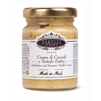 Crème d'artichaut à la truffe - Tartufi Jimmy - Pauline&Olivier