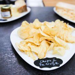 chips à la truffe, gressins et produits apéritifs à la truffe