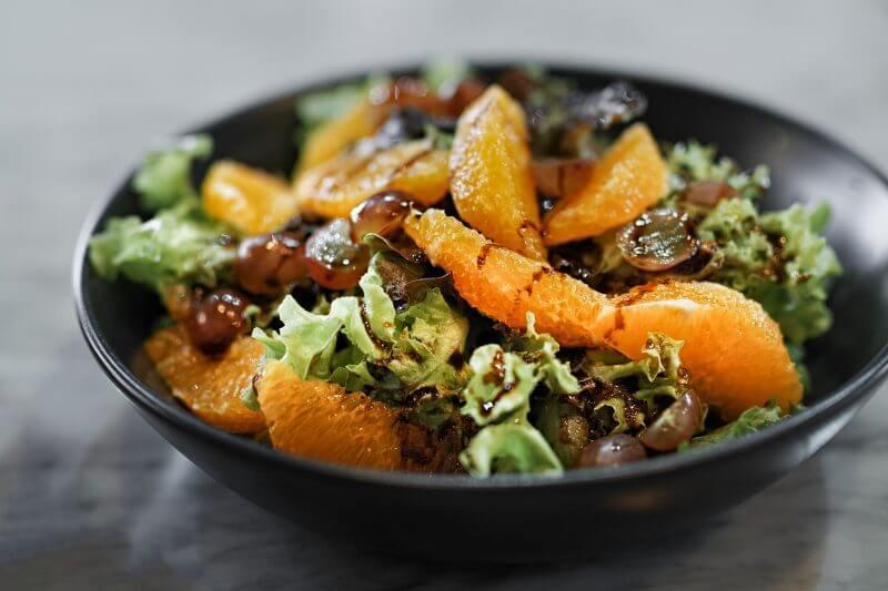 salade d'agrumes et vinaigrette italienne - Pauline&Olivier