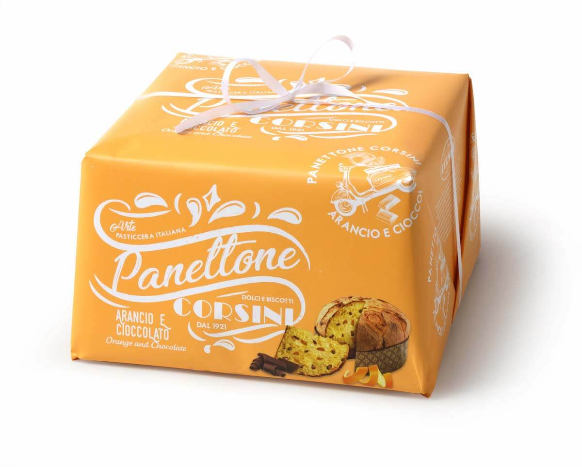 Panettone Orange Chocolat - Corsini