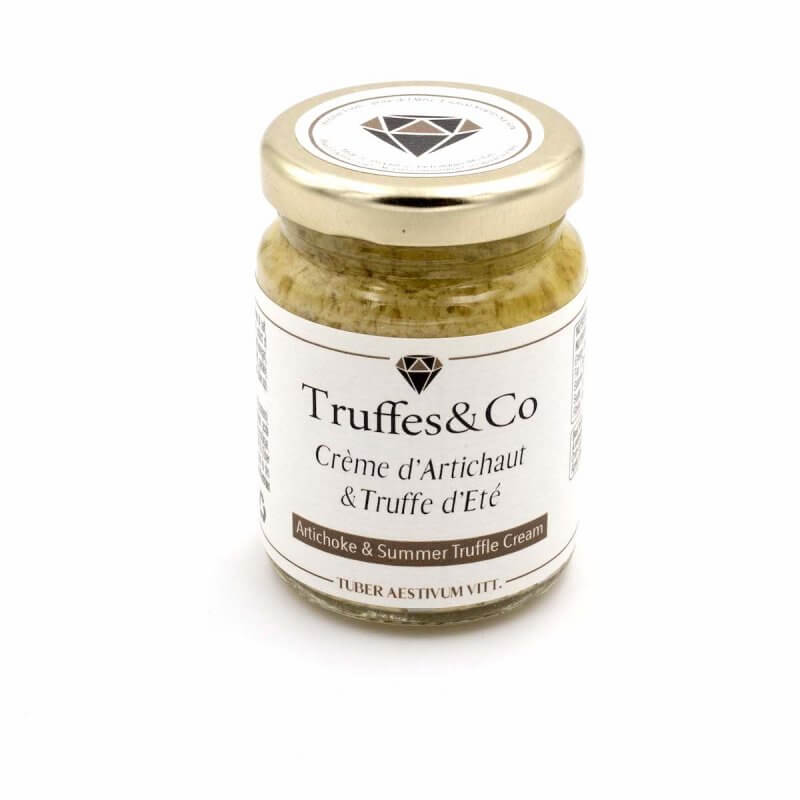 Crème d'artichaut à la Truffe d'été - Truffes&Co