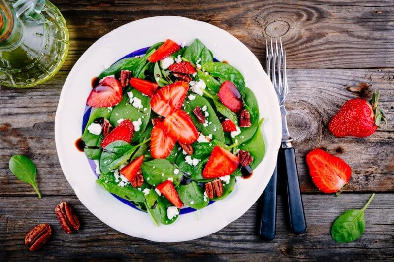 Salade de fruits et vinaigre balsamique à la Truffe Noire